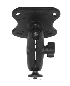 Mounting base for the Humminbird 100, 300, 500, 700 Series and Matrix Series  Depthfinder and Electronics Mounts YakAttack - Hook 1 Outfitters/Kayak Fishing Gear