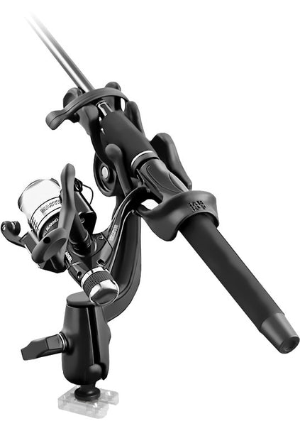 YakAttack Rod Holder Combo - CBO-SB15-R114  Rod Holder RAM - Hook 1 Outfitters/Kayak Fishing Gear