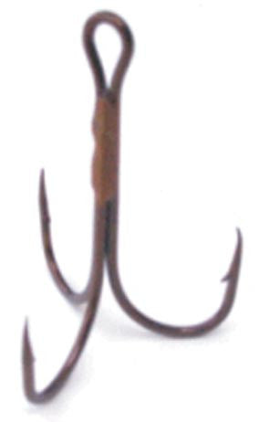 Taitex Treble Hooks-Bronze  Hooks Taitex Fishing - Hook 1 Outfitters/Kayak Fishing Gear