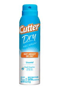 Cutter Insect Repellent - Dry 10% Deet 4Oz Aerosol
