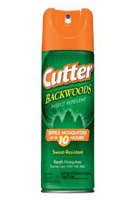 Cutter Insect Repellent - Backwoods Aerosol 6Oz  Camping Cutter-Repel - Hook 1 Outfitters/Kayak Fishing Gear