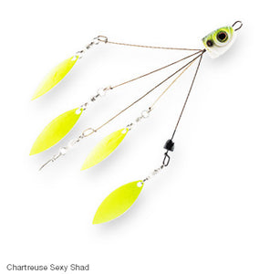 Chatterbait Quadzilla Spin Rig  Lures - Spinnerbaits/Buzzbaits Chatterbait / Z-Man - Hook 1 Outfitters/Kayak Fishing Gear