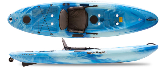 Coupe XP Blue Ice Kayaks Liquidlogic - Hook 1 Outfitters/Kayak Fishing Gear