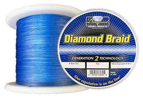 Diamond Braid  Line - Braid Diamond - Hook 1 Outfitters/Kayak Fishing Gear