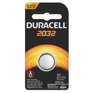 Duracell Lithium Coin Battery - 2032 1/Pk  Lights/Batteries Duracell - Hook 1 Outfitters/Kayak Fishing Gear