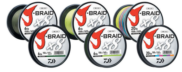 Daiwa J-Braid  Line - Braid Daiwa - Hook 1 Outfitters/Kayak Fishing Gear