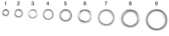 Eagle Claw Split Rings  Split Rings Eagle Claw - Hook 1 Outfitters/Kayak Fishing Gear
