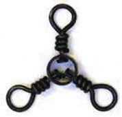 Eagle Claw 3-Way Swivel  Swivels/Clips Eagle Claw - Hook 1 Outfitters/Kayak Fishing Gear