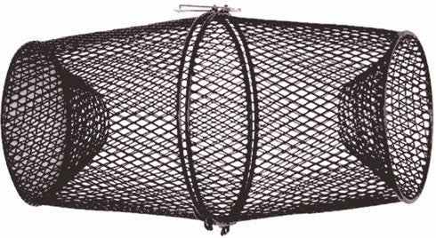 Eagle Claw Minnow Trap - Metal Black Light Weight  Nets/Traps/Baskets Eagle Claw - Hook 1 Outfitters/Kayak Fishing Gear