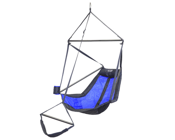 Lounger Hanging Chair ROYAL/CHARCOAL HAMMOCK ENO - Hook 1 Outfitters/Kayak Fishing Gear