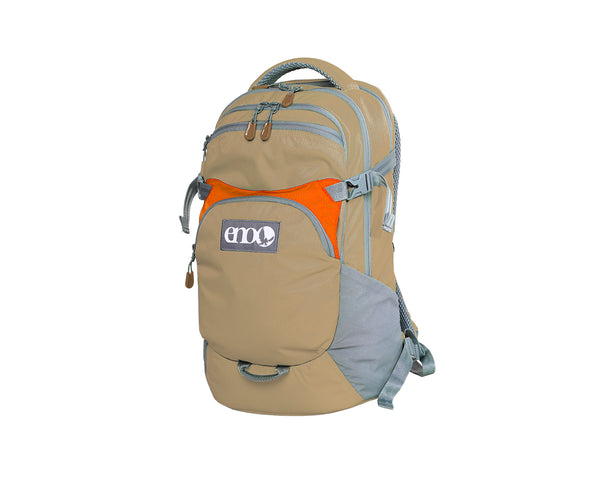 Rothbury™ Daypack Khaki/Orange Bags ENO - Hook 1 Outfitters/Kayak Fishing Gear