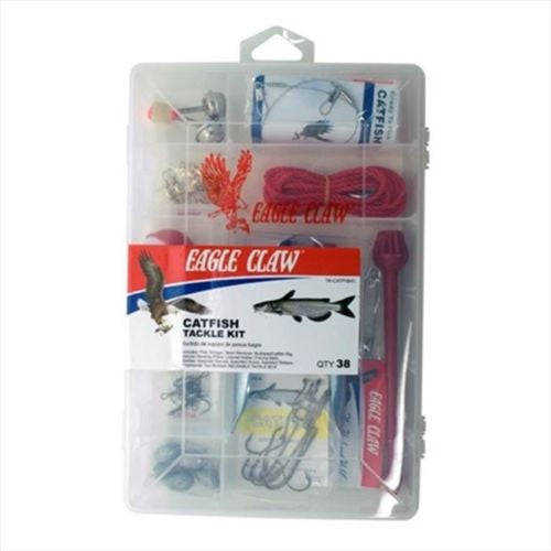 Eagle Claw Tackle Kit  Tackle Boxes/Bags Eagle Claw - Hook 1 Outfitters/Kayak Fishing Gear