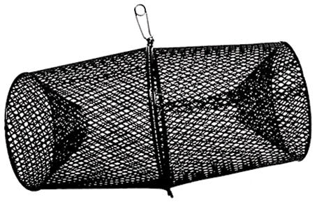 Frabill Crawfish Trap - 16-1/2In Black  Nets/Traps/Baskets Frabill - Hook 1 Outfitters/Kayak Fishing Gear