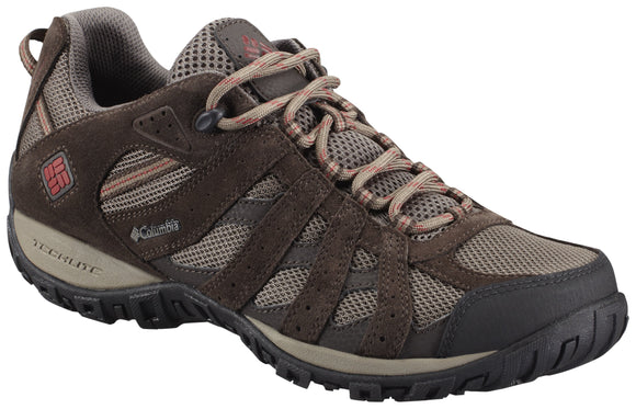 MEN'S REDMOND™ WATERPROOF Mud, Garnet Red / 8 Footwear Columbia - Hook 1 Outfitters/Kayak Fishing Gear