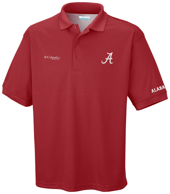 Collegiate Perfect Cast™ Polo Alabama  Tops Columbia - Hook 1 Outfitters/Kayak Fishing Gear