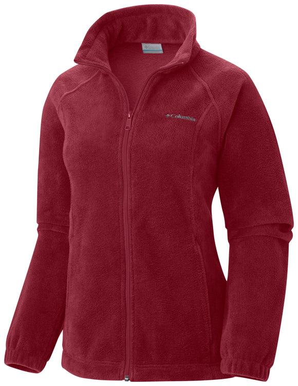Benton Springs™ Full Zip Beet / S Jackets Columbia - Hook 1 Outfitters/Kayak Fishing Gear