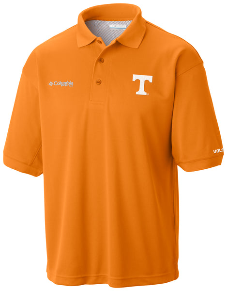 Collegiate Perfect Cast™ Polo Tennessee  Tops Columbia - Hook 1 Outfitters/Kayak Fishing Gear