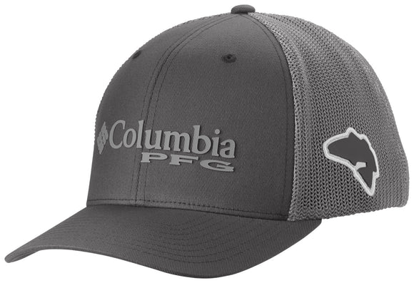 PFG MESH™ BALL CAP GRILL / BASS  Hats Columbia - Hook 1 Outfitters/Kayak Fishing Gear