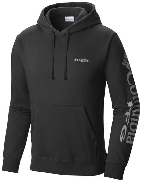 PFG SLEEVE GRAPHIC HOODIE Black - CLOSEOUT / Medium Tops Columbia - Hook 1 Outfitters/Kayak Fishing Gear