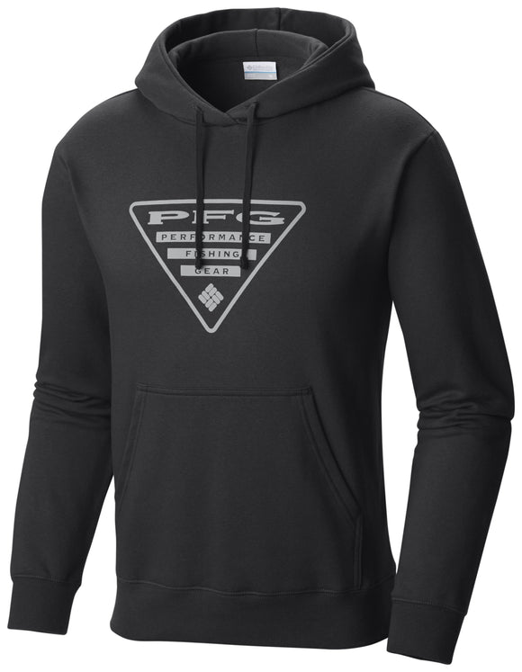 PFG Triangle Hoodie - CLOSEOUT Black - CLOSEOUT / Medium Tops Columbia - Hook 1 Outfitters/Kayak Fishing Gear