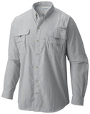 Men's Bahama™ II Long Sleeve Shirt Cool Grey / M Tops Columbia - Hook 1 Outfitters/Kayak Fishing Gear