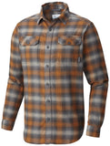 FLARE GUN FLANNEL III LONG SLEEVE - CLOSEOUT Bright Copper Ombre - CLOSEOUT / Medium Tops Columbia - Hook 1 Outfitters/Kayak Fishing Gear