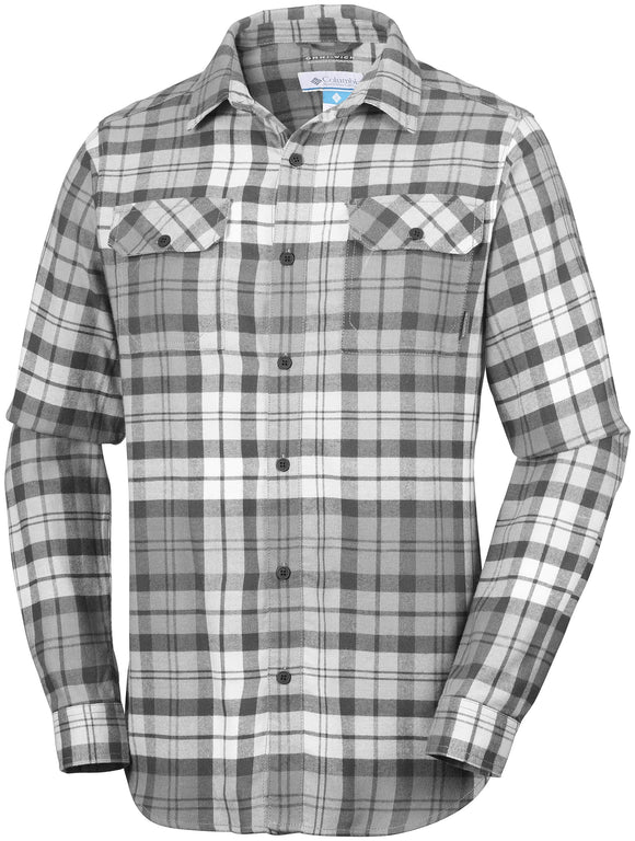 FLARE GUN FLANNEL III LONG SLEEVE - CLOSEOUT Shark Blanket Plaid - CLOSEOUT / Medium Tops Columbia - Hook 1 Outfitters/Kayak Fishing Gear