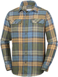 FLARE GUN FLANNEL III LONG SLEEVE - CLOSEOUT Canyon Gold Blanket Plaid - CLOSEOUT / Medium Tops Columbia - Hook 1 Outfitters/Kayak Fishing Gear