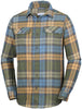 FLARE GUN FLANNEL III LONG SLEEVE SH Canyon Gold Blanket Plaid / Medium Tops Columbia - Hook 1 Outfitters/Kayak Fishing Gear