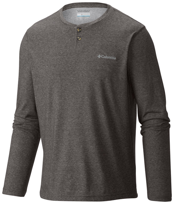 Thistletown Park™ Henley Charcoal Heather / M Tops Columbia - Hook 1 Outfitters/Kayak Fishing Gear
