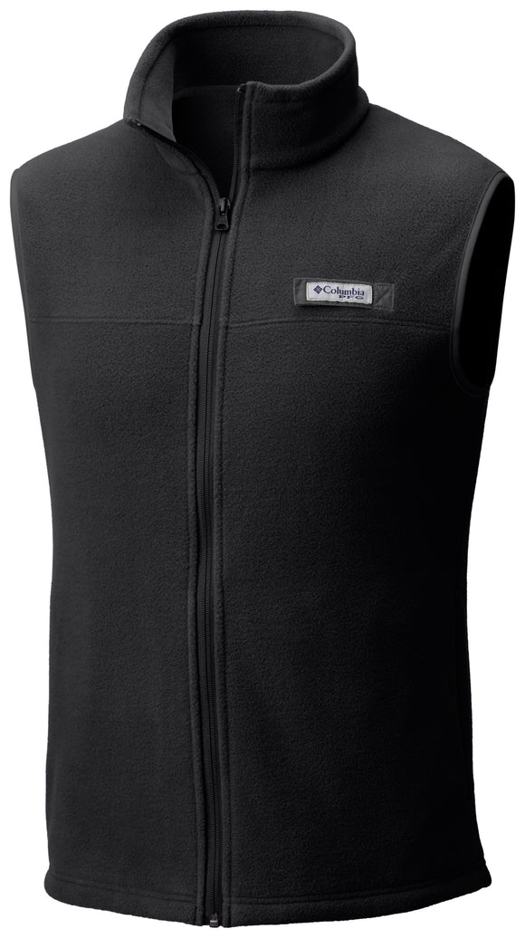 MEN'S HARBORSIDE FLEECE VEST Black / Medium Jackets Columbia - Hook 1 Outfitters/Kayak Fishing Gear