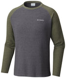 Ketring™ Raglan Long Sleeve Shirt - CLOSEOUT Shark Heather - CLOSEOUT / Medium Tops Columbia - Hook 1 Outfitters/Kayak Fishing Gear