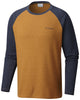 Ketring™ Raglan Long Sleeve Shirt Canyon Gold Heather - CLOSEOUT / Medium Tops Columbia - Hook 1 Outfitters/Kayak Fishing Gear