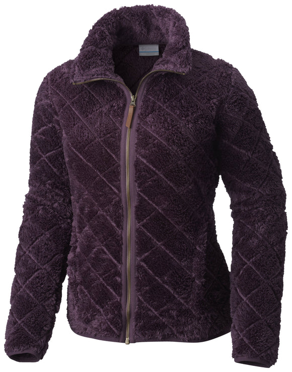 FIRE SIDE SHERPA FULL ZIP - CLOSEOUT Dusty Purple - CLOSEOUT / Small Tops Columbia - Hook 1 Outfitters/Kayak Fishing Gear
