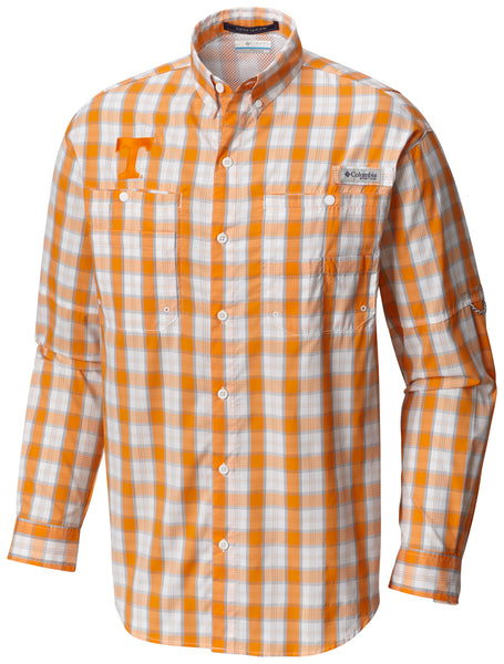 Collegiate Super Tamiami™ LS Shirt  Tops Columbia - Hook 1 Outfitters/Kayak Fishing Gear
