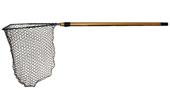 Frabill Hibernet Landing Net - 40In Handle W/18Inx18In Hoop  Nets/Traps/Baskets Frabill - Hook 1 Outfitters/Kayak Fishing Gear