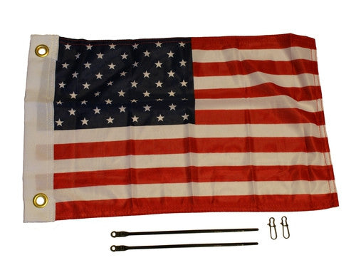 AMERICAN FLAG  Lights and Lighting YAKATTACK - Hook 1 Outfitters/Kayak Fishing Gear