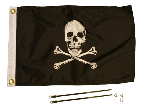 JOLLY ROGER FLAG  Lights and Lighting YAKATTACK - Hook 1 Outfitters/Kayak Fishing Gear