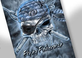 Flying Fisherman Sunbandit  Clothing/Footwear - Fishing Flying Fisherman - Hook 1 Outfitters/Kayak Fishing Gear