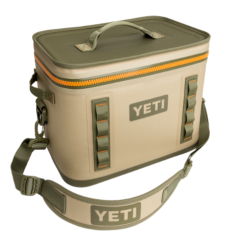 Hopper Flip 18 Field Tan Cooler Yeti - Hook 1 Outfitters/Kayak Fishing Gear