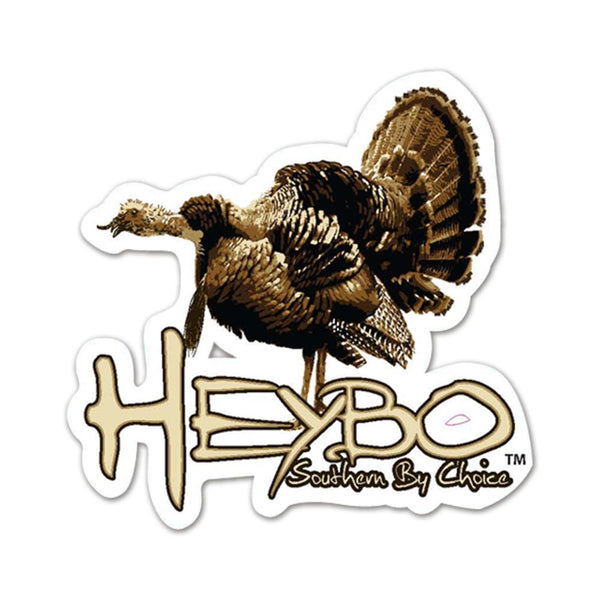 "HEYBO 6"" Full Color Decals Turkey  Accessories HEYBO - Hook 1 Outfitters/Kayak Fishing Gear"