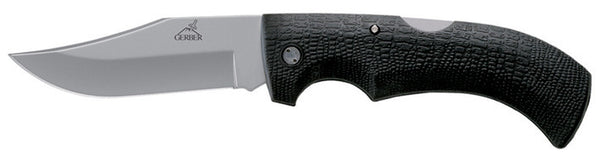 Gerber Knife Fold Gator Knife - Fine Clip Point W/Sheath  Cutlery/Tools Gerber - Hook 1 Outfitters/Kayak Fishing Gear