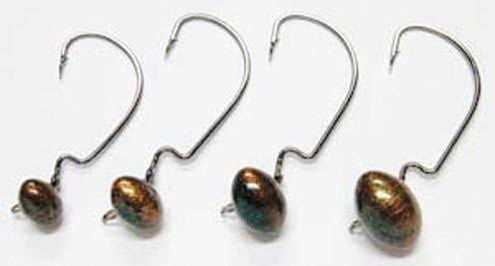 Gene Larew Hardhead  Lures - Soft Plastics Gene Larew - Hook 1 Outfitters/Kayak Fishing Gear