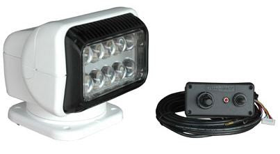 Golight Radioray Led Light - White Permanent W/Remote  Lights/Batteries GoLight - Hook 1 Outfitters/Kayak Fishing Gear