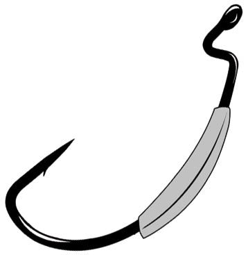Gamakatsu Weighted Superline  Hooks Gamakatsu / Spro - Hook 1 Outfitters/Kayak Fishing Gear