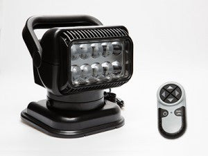 Golight Radioray Led Light - Black Magnetic W/Remote  Lights/Batteries GoLight - Hook 1 Outfitters/Kayak Fishing Gear