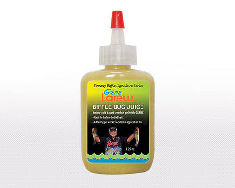 Gene Larew Biffle Bug Juice - 1 1/4Oz Craw/Garlic Gel