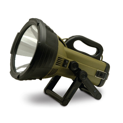 Gsm Cyclops Spotlight - Colossus 18 Million Cp Recharg  Lights/Batteries Gsm - Hook 1 Outfitters/Kayak Fishing Gear