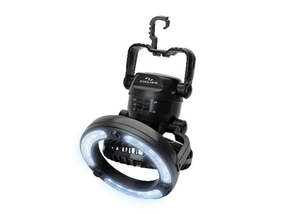 Gsm Cyclops Fan Light - Portable Fan Light 18 Led  Lights/Batteries Gsm - Hook 1 Outfitters/Kayak Fishing Gear