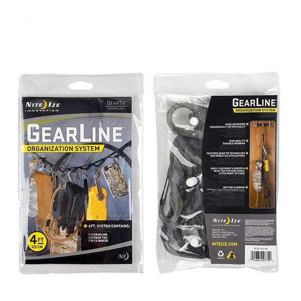 GearLine Organization System 4 FT  Accessories Nite Ize - Hook 1 Outfitters/Kayak Fishing Gear